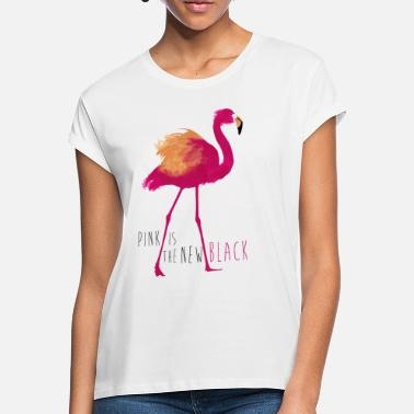 Officialbrands Animal Planet Flamingo Pink is the new black - Frauen Oversize T-Shirt
