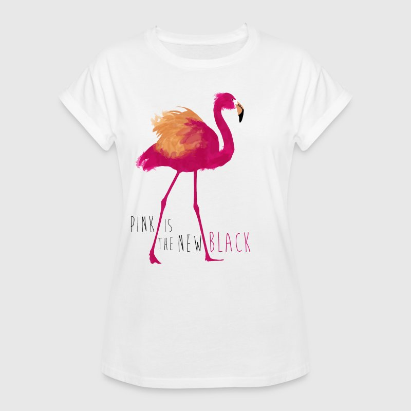 Animal Planet Flamingo Pink Is The New Black - Women's Oversize T-Shirt