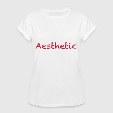 aesthetic - Women's Oversize T-Shirt