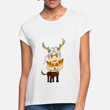 centauro chibi - Camiseta holgada mujer 0db9d28a658
