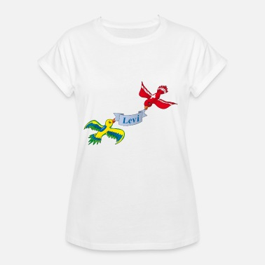 Levy Birds Levi - Women's Oversize T-Shirt