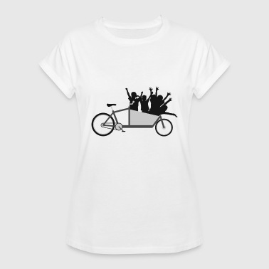 Cargo wheel crew car - Women's Oversize T-Shirt