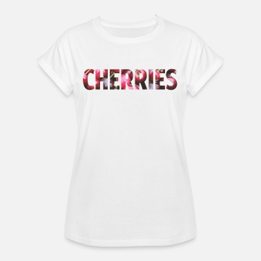 Cherries Cherries - Frauen Oversize T-Shirt