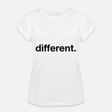 Fashion Buyer different. - Women's Oversize T-Shirt