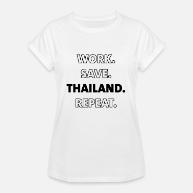 Gift Thailand Thailand gift for Thailand lovers - Women's Oversize T-Shirt