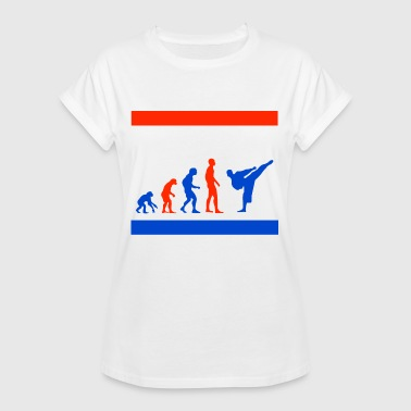 Taekwondo Evolution Martial Arts - Women's Oversize T-Shirt