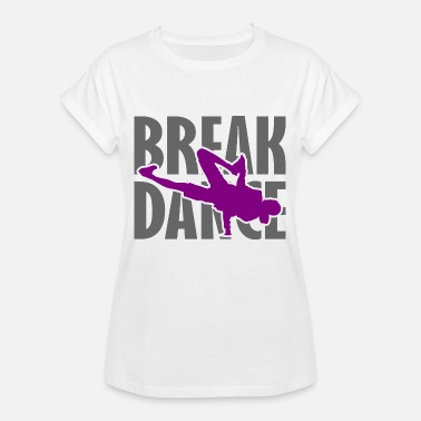 Bboying Breakdance Breakdancer Breakdancing Streetdance - Oversize-T-shirt dam