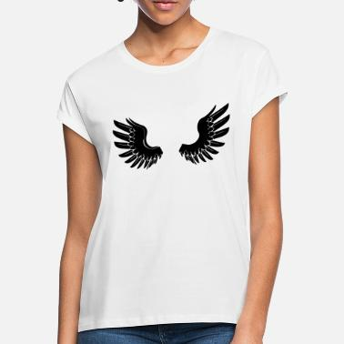 Angelwings Black Angelwings - Oversize T-shirt dam