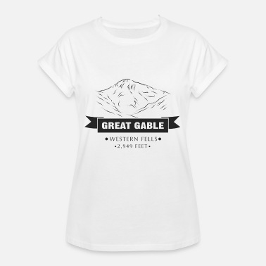 Cumbria Great Gable - Naisten oversized-t-paita