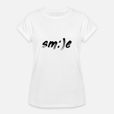 Smiley - Smile Smile smile smiley joy - Women's Oversize T-Shirt