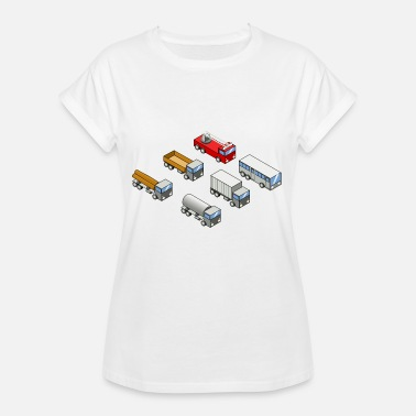 Mode Of Transport school bus coach omnibus school bus traffic40 - Women's Oversize T-Shirt