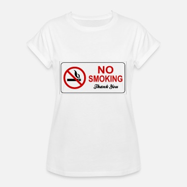 Smoking Ban smoking ban - Women's Oversize T-Shirt
