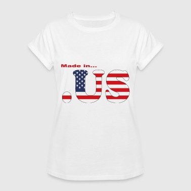 made in usa - Frauen Oversize T-Shirt