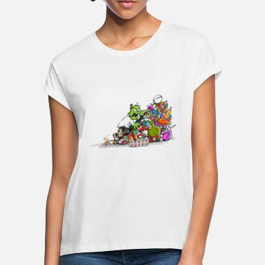 Tsunami Dr. Zombie - Women's Loose Fit T-Shirt