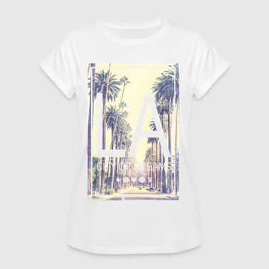 SmileyWorld LA City Of Dreams - T-shirt oversize Femme