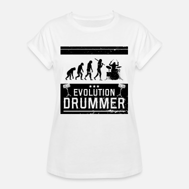Becken Drummer Evolution Drummer - Frauen Oversize T-Shirt