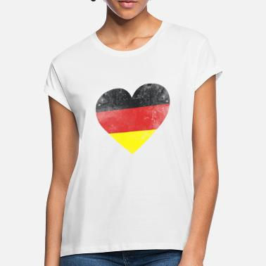 German Flag Gift Germany flag german flag german - Women's Loose Fit T-Shirt