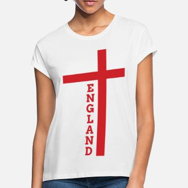 European Champion England flag flag football European champion - Women's Loose Fit T-Shirt