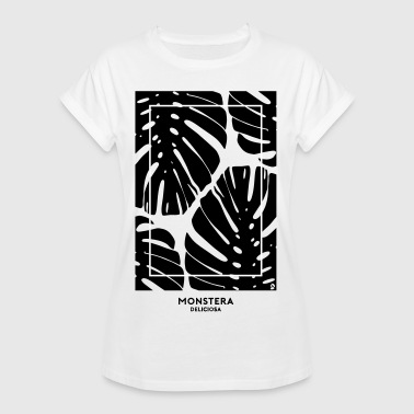 (monstera) - Women's Oversize T-Shirt