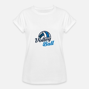 Pokalsejr Volleyball Volleyball Volleyball Set Team - Dame oversize T-shirt