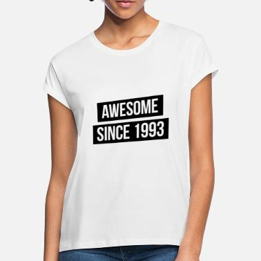 Awesome Since Awesome since 1993 - Frauen Oversize T-Shirt
