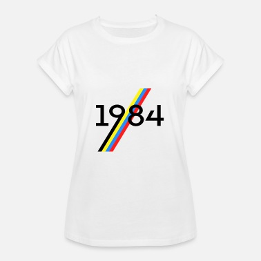 Science Fiction 1984 science fiction - Vrouwen oversize T-shirt