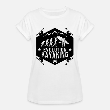 Evolution Kajak Evolution Kajak - Frauen Oversize T-Shirt