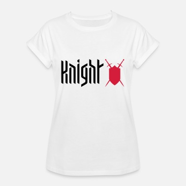 Shield KNIGHT - SHIELD / SWORD - GAMING - Vrouwen oversize T-shirt
