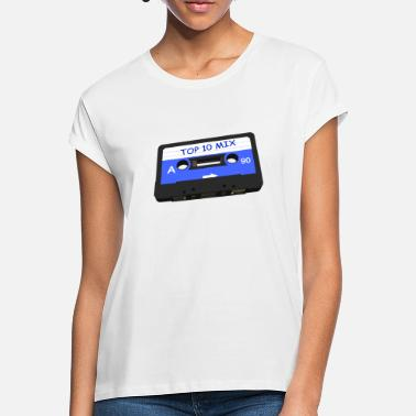 Music Tape - TOP 10 Mix - Audio Tape - Women's Loose Fit T-Shirt