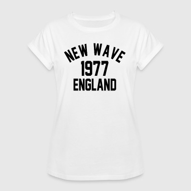 New Wave 1977 England - Dame oversize T-shirt