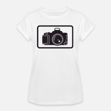 Digitale Camera Camera fotograaf digitale camera - Vrouwen oversize T-shirt