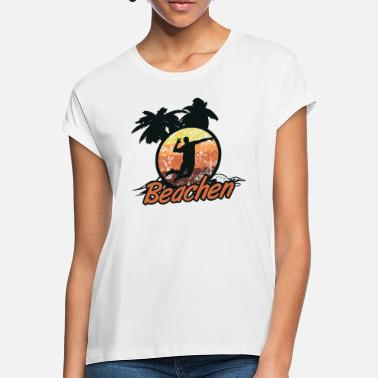 Beachvolley beachvolley - Oversize T-shirt dame