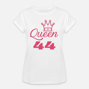 44 Year Old Queen 44 years old - Women's Oversize T-Shirt