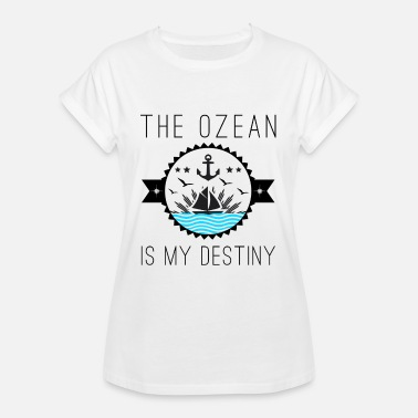 Word Of Wisdom Sea ocean word of wisdom christmas gift - Women's Oversize T-Shirt