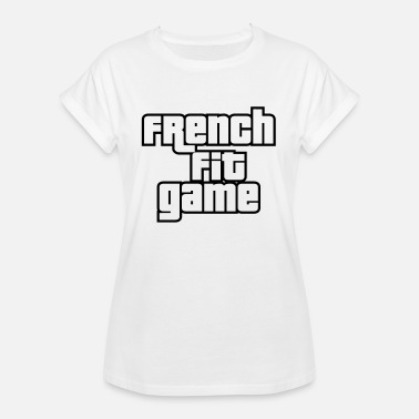 Youtubeur French Fit Game - T-shirt oversize Femme