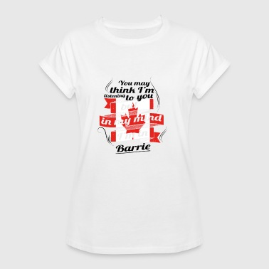 HOLIDAY HOME ROOTS TRAVEL Canada Canada Barrie - Vrouwen oversize T-shirt