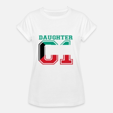 Kuwait Daughter Tochter queen 01 Kuwait - Frauen Oversize T-Shirt