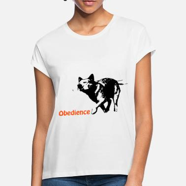 Obedience Obedience Cattledog - Frauen Oversize T-Shirt