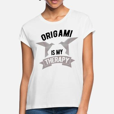 Origami origami - Oversize T-shirt dame