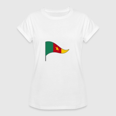 Cameroon Africa Cameroon Africa France flag flag Landesfahne - Women's Oversize T-Shirt