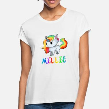 Millie Unicorn Unicorn Millie - Women's Loose Fit T-Shirt