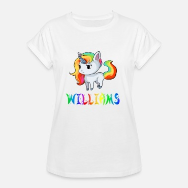 William Unicorn Williams - Women's Oversize T-Shirt