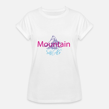 Swag Sports Mountain SWAG - Women's Oversize T-Shirt
