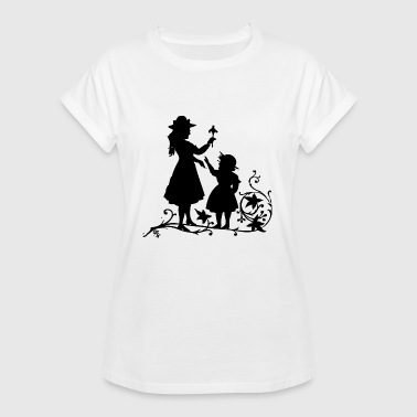 Mother Daughter mother and daughter - Women's Oversize T-Shirt