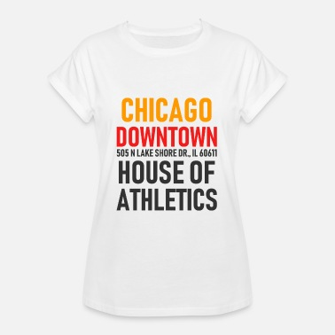 Windy City Chicago Downtown - Athletics House - Illinois - Dame oversize T-shirt