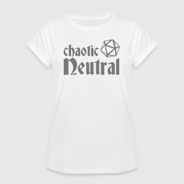chaotic neutral - Women's Oversize T-Shirt