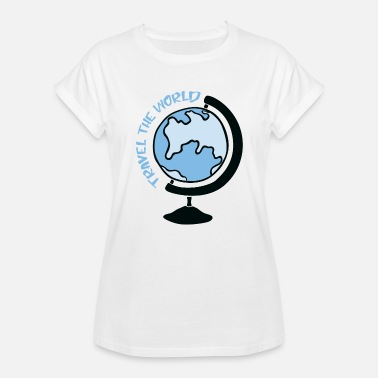 World Travel Travel the World - Travel the World - Women's Oversize T-Shirt