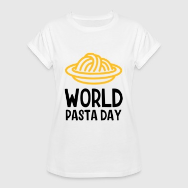 World Pasta Day - Women's Oversize T-Shirt