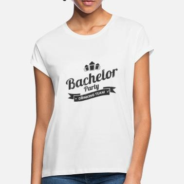 Wedding Party BACHELOR PARTY DRINKING TEAM JGA Gifts Shirts - Women's Loose Fit T-Shirt