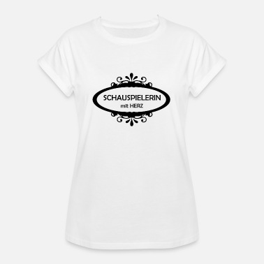 Actress actress - Women's Oversize T-Shirt